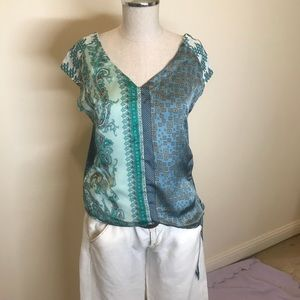 Silk Bandana Top